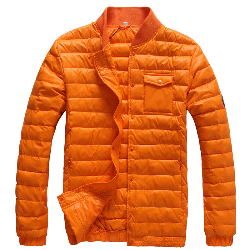doudoune moncler homme orange